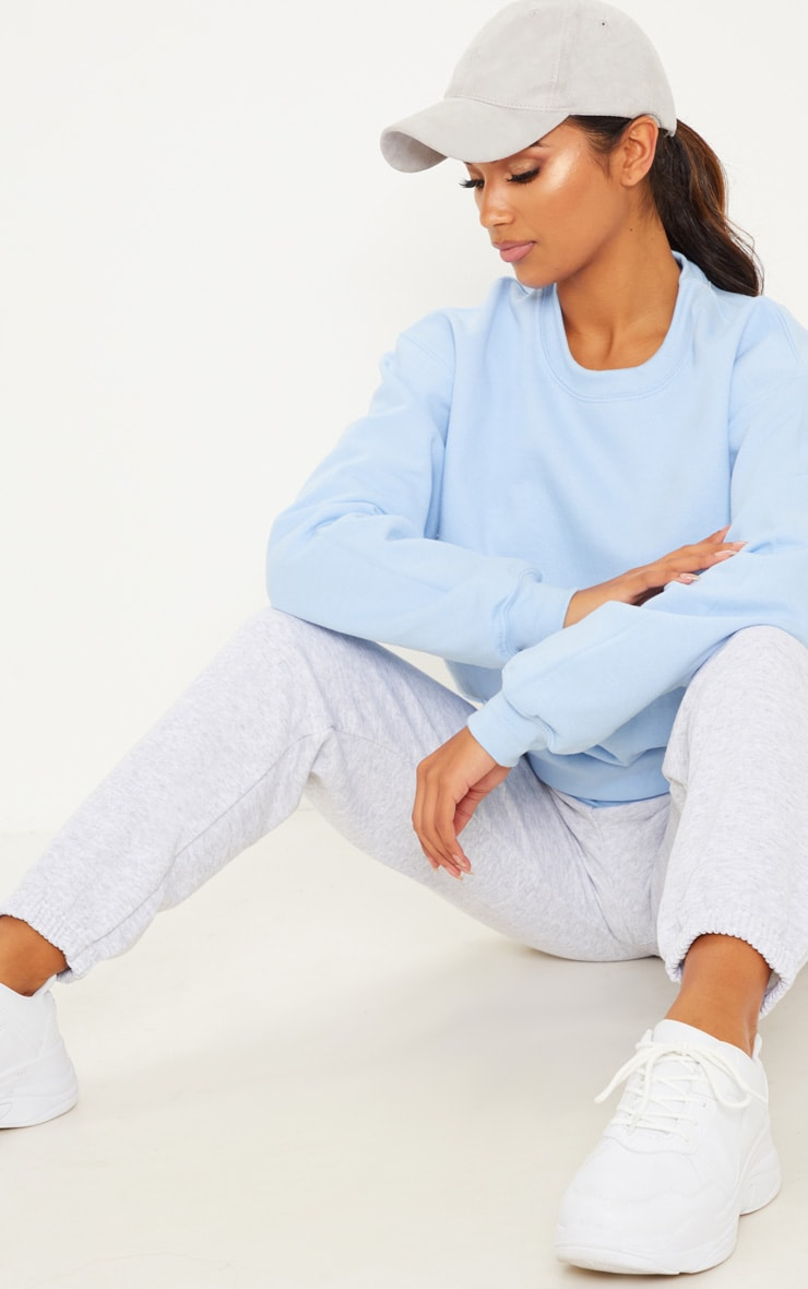 Light Blue Ultimate Oversized Sweater 4
