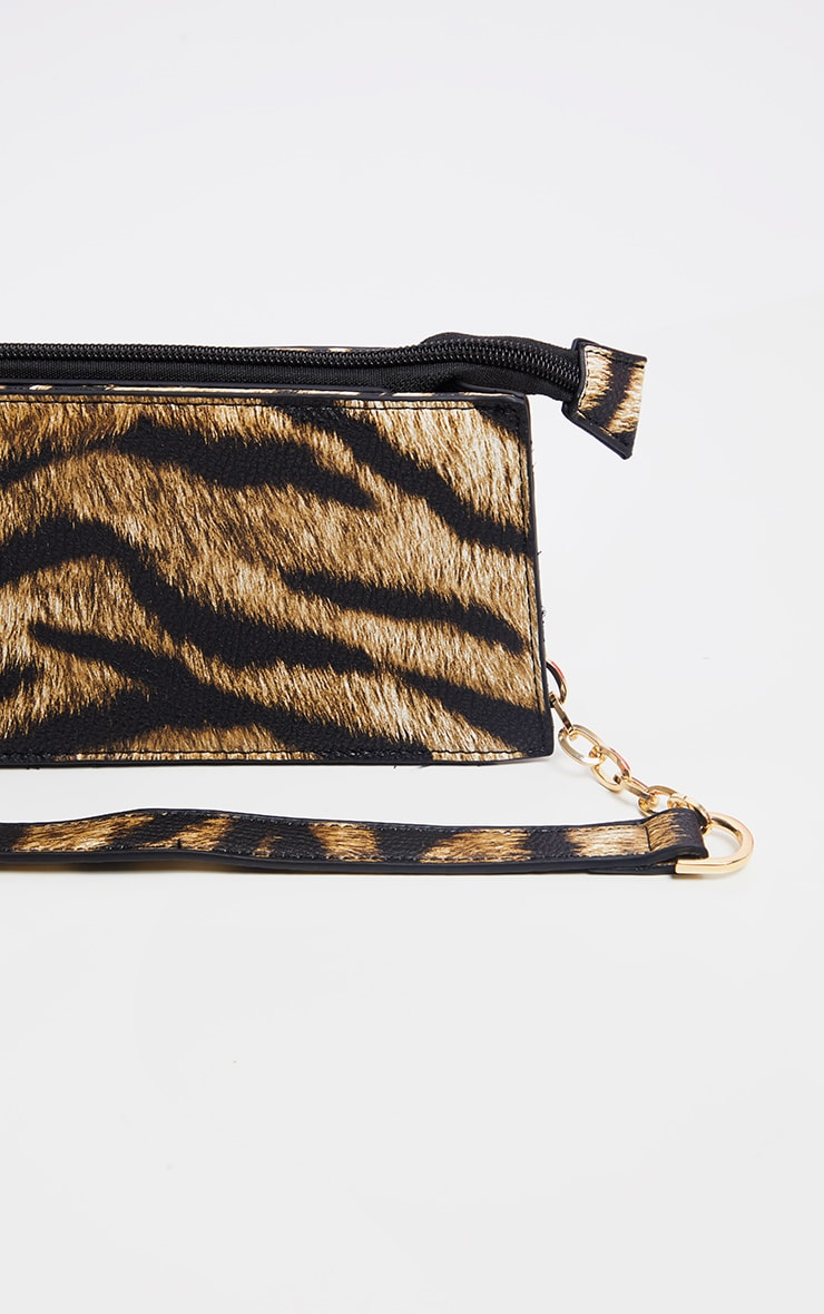 Tiger Chain Handle 90s Shoulder Bag 2