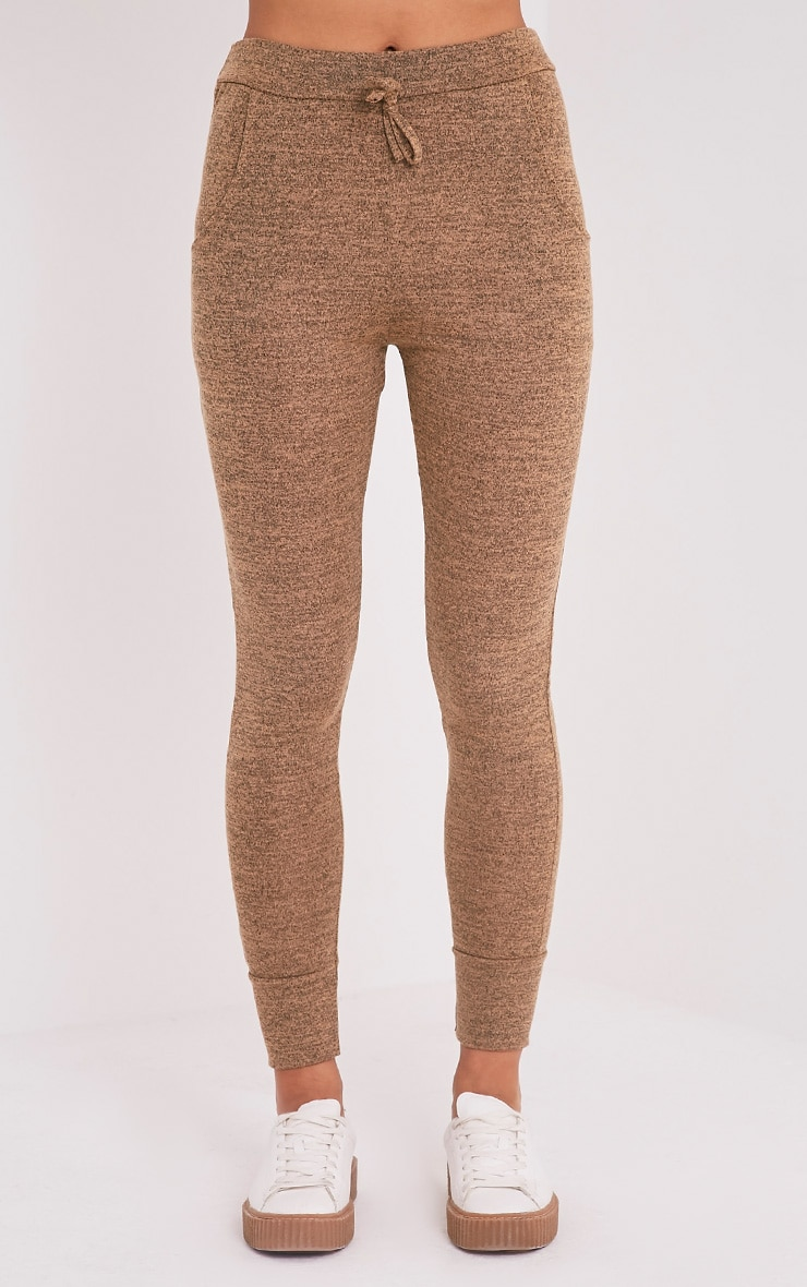 Haree Camel  Casual Tracksuit Bottoms 2