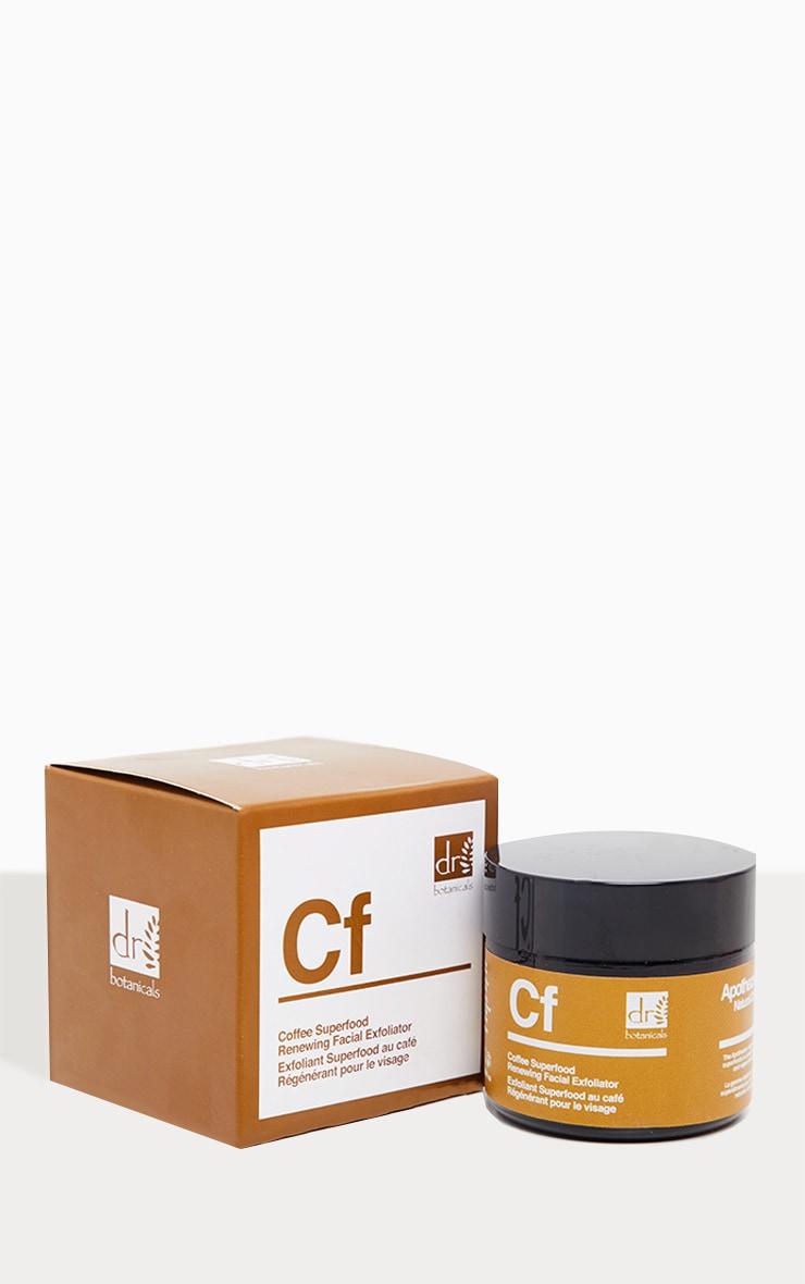 Dr Botanicals Coffee Superfood Renewing Facial Exfoliator 3