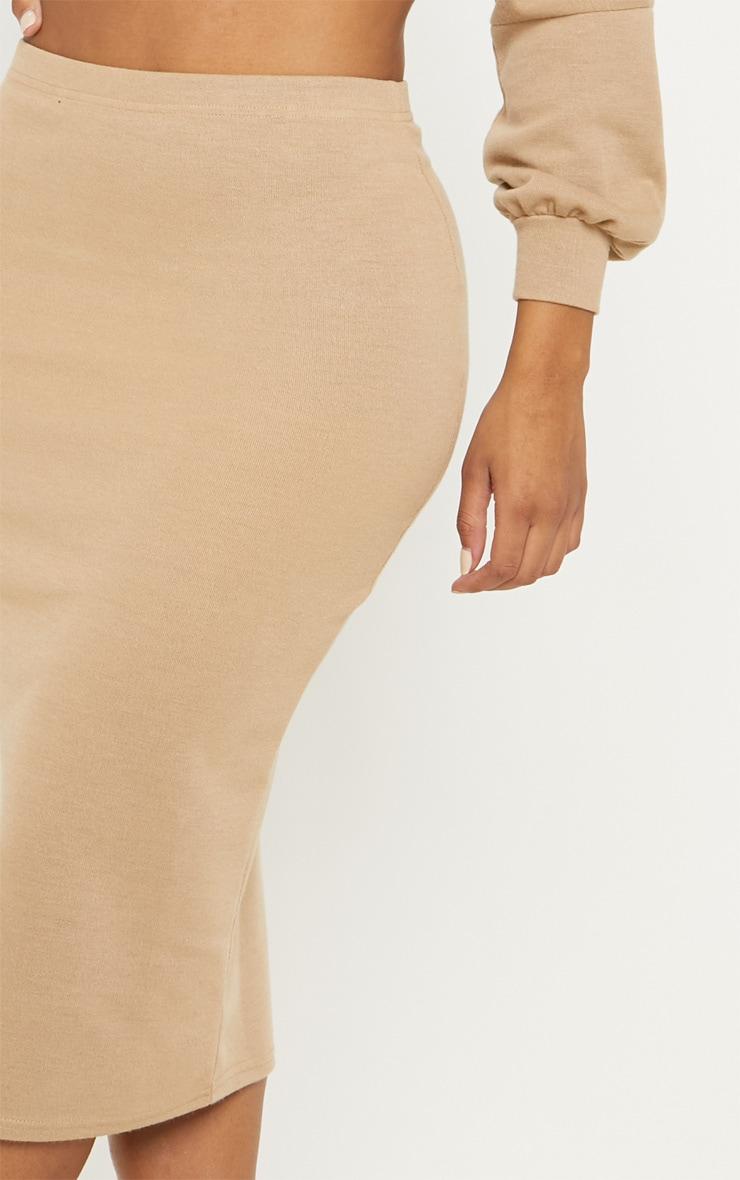 Shape Stone Sweat Midi Skirt  5