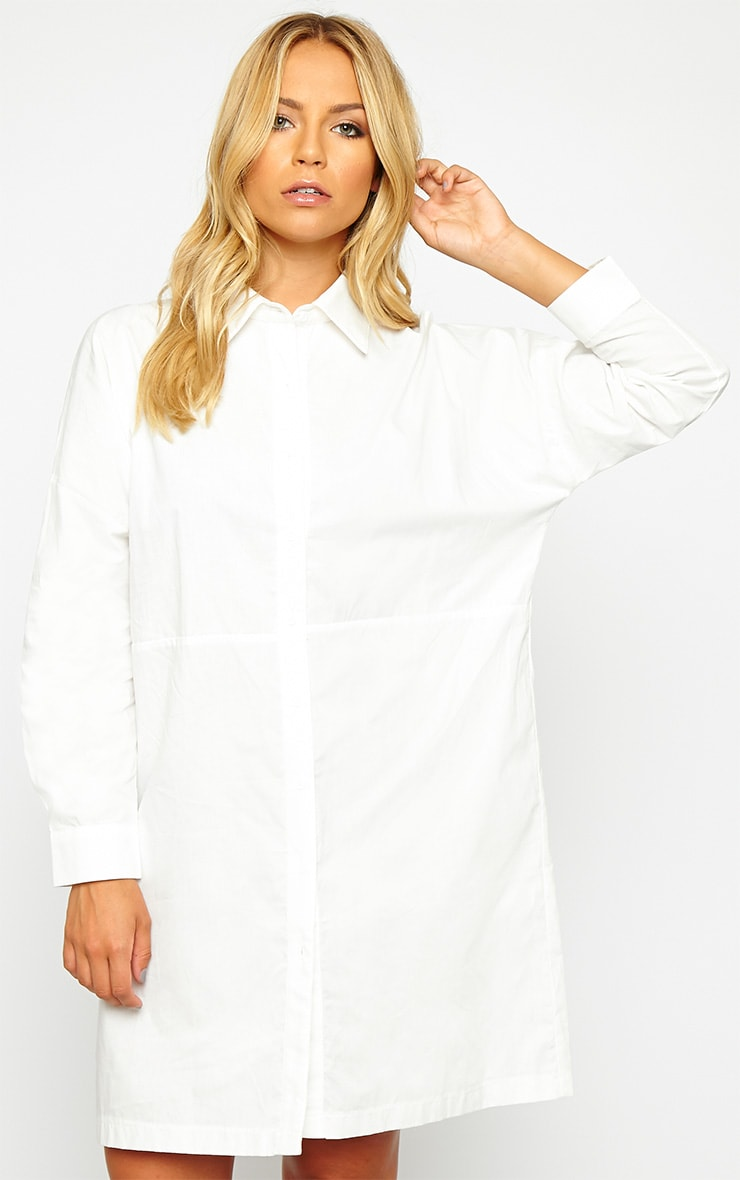 Carson White Shirt Dress 1