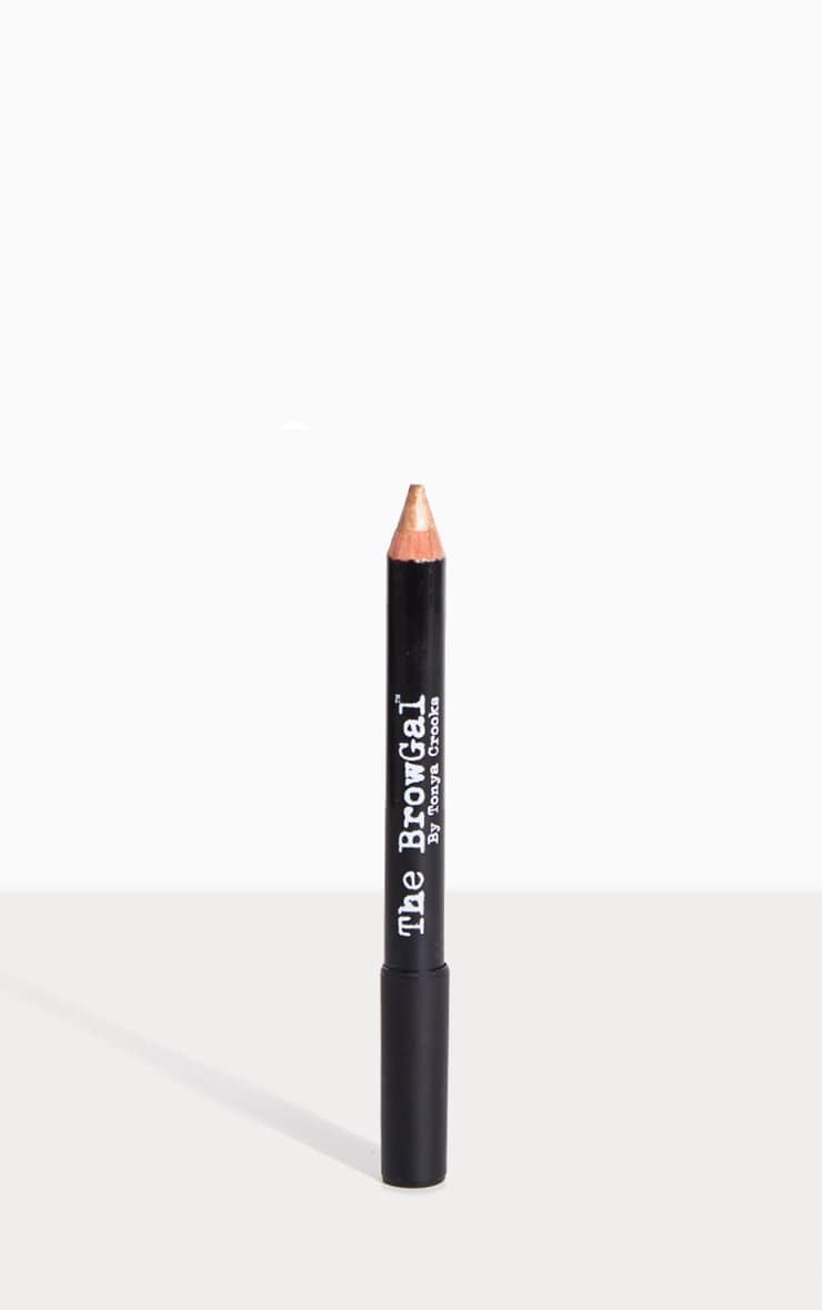 The BrowGal Highlighter Pencil 02 Gold Nude 2