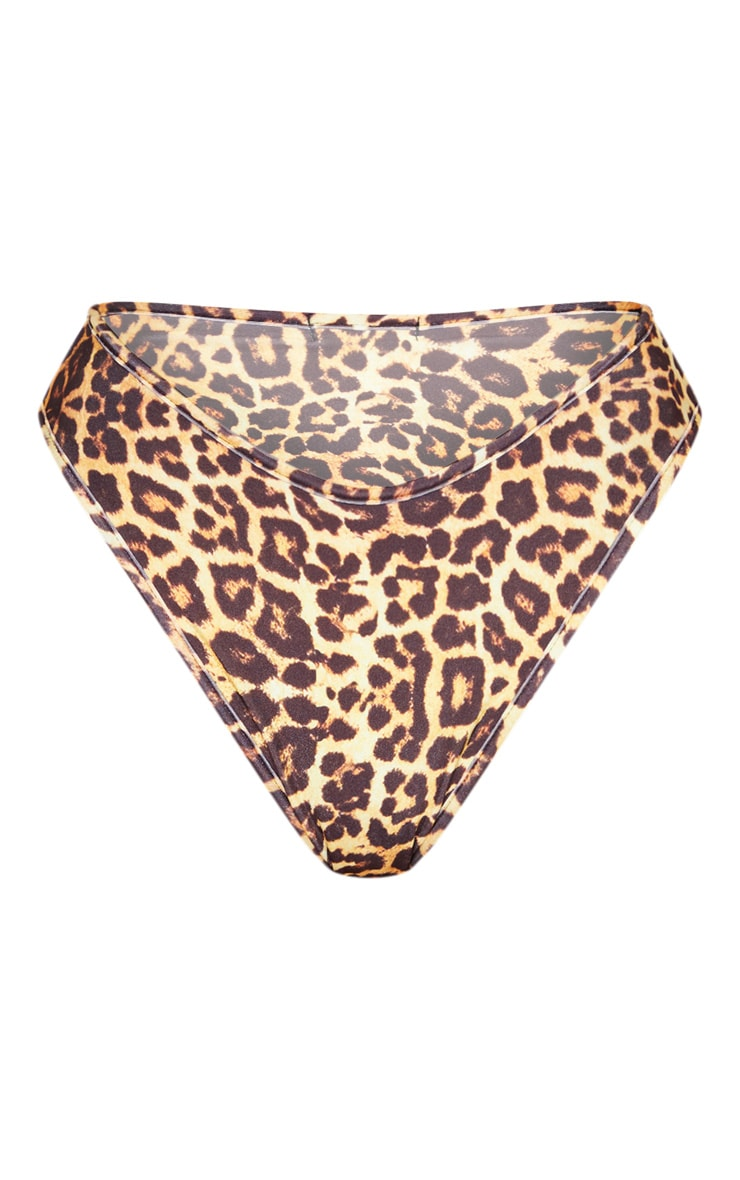 Leopard Mix & Match Cheeky Bum Bikini Bottom 8