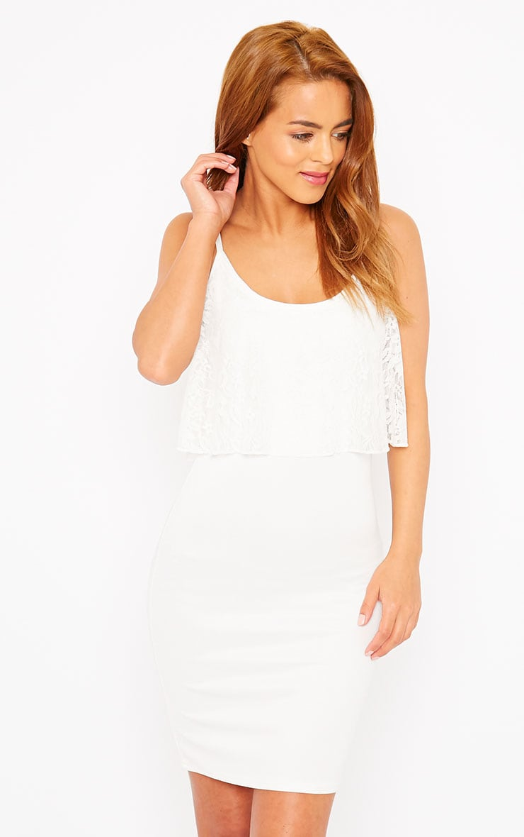 Gildi White Frill Detail Dress 4