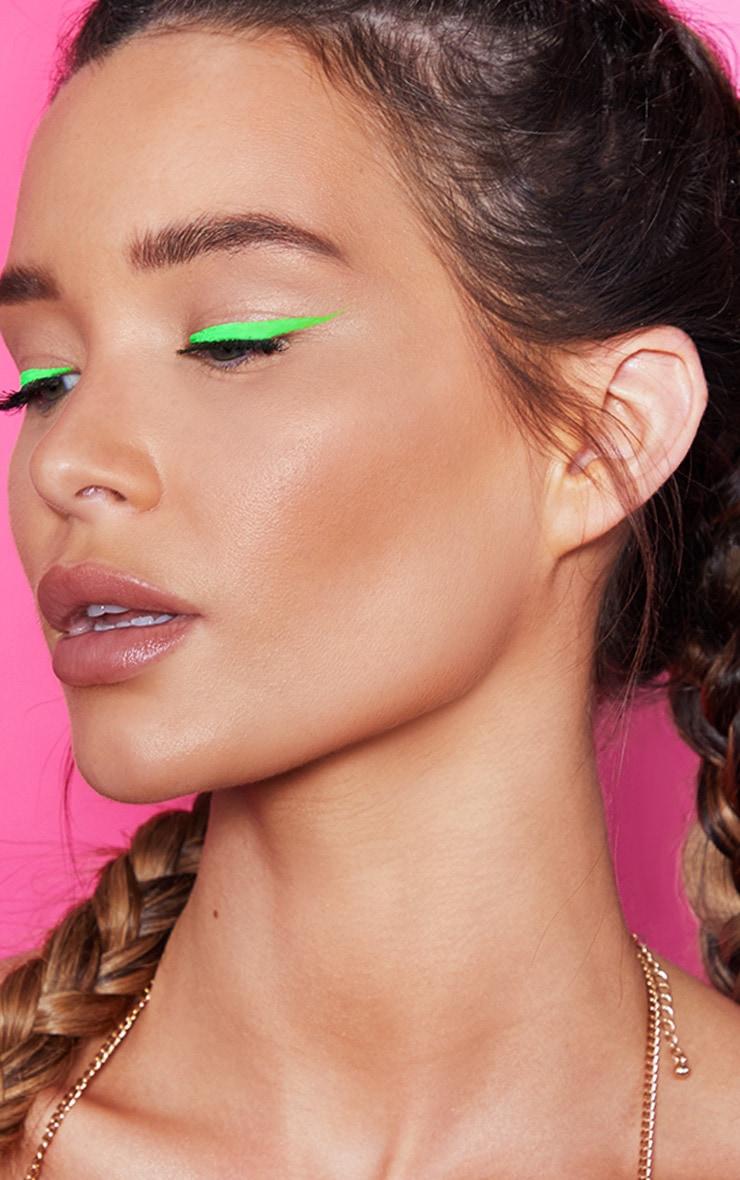 Stargazer Green Neon Liquid Eyeliner 2