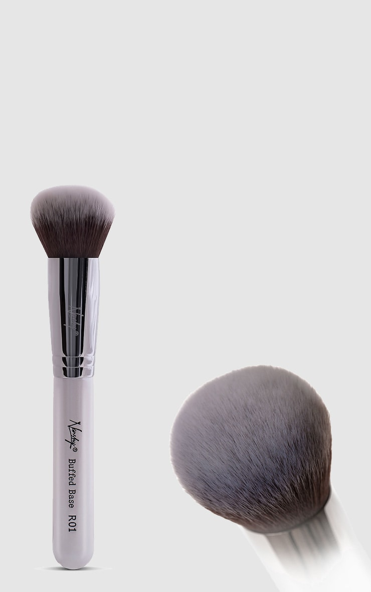 Nanshy Gobsmack Glamorous Pearlescent White Brush Set 5