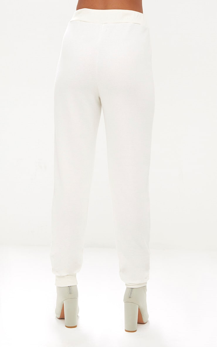 Cream Ultimate Sweat Jogger  4