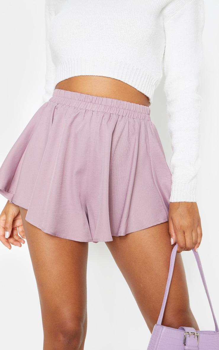 Dusty Lilac Floaty Shorts 6