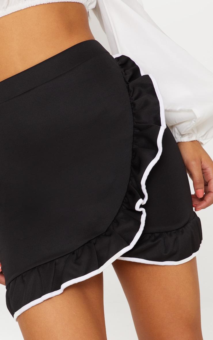 Black Frill Edge Skirt 6