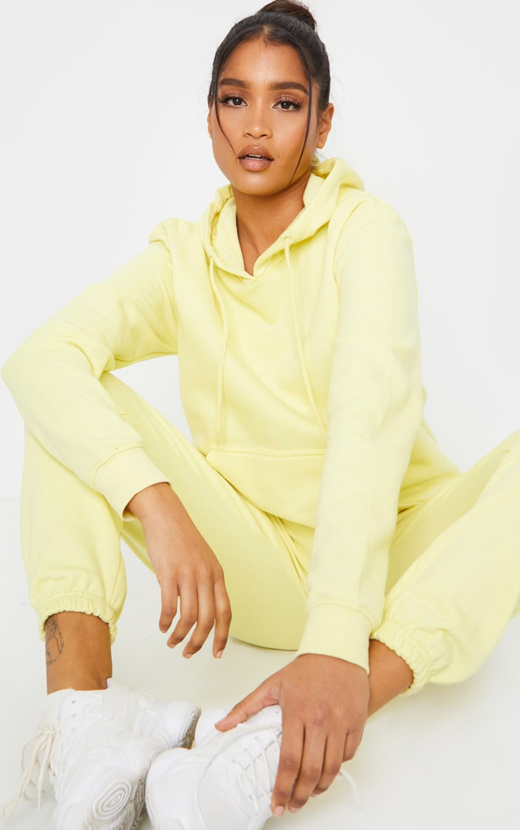 Pale Lime Ultimate Oversized Hoodie 3