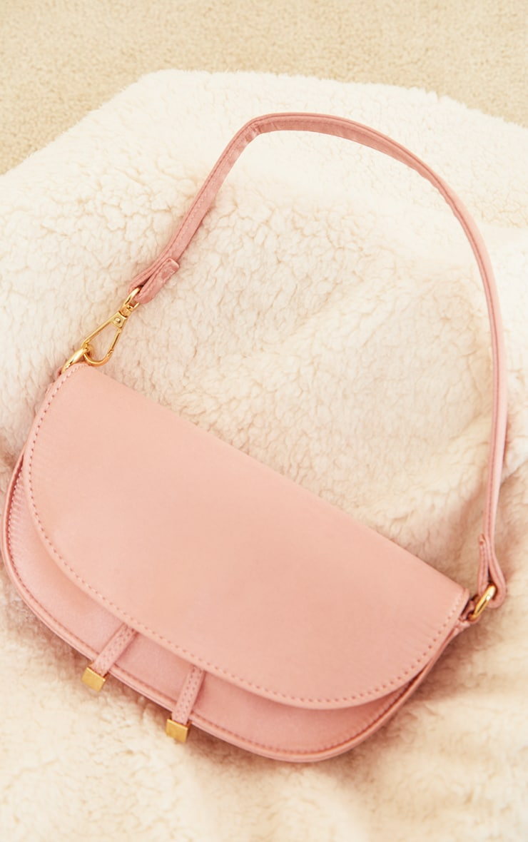 Rose Satin Mini Shoulder Bag 2