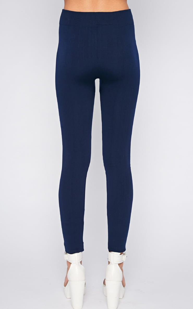 Becca Navy Blue Leggings  2