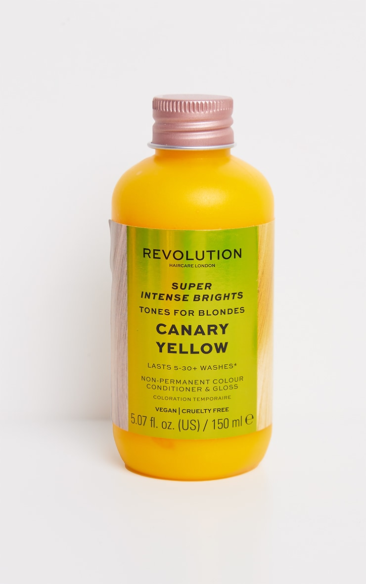Revolution Haircare Tones for Blondes Canary Yellow 3