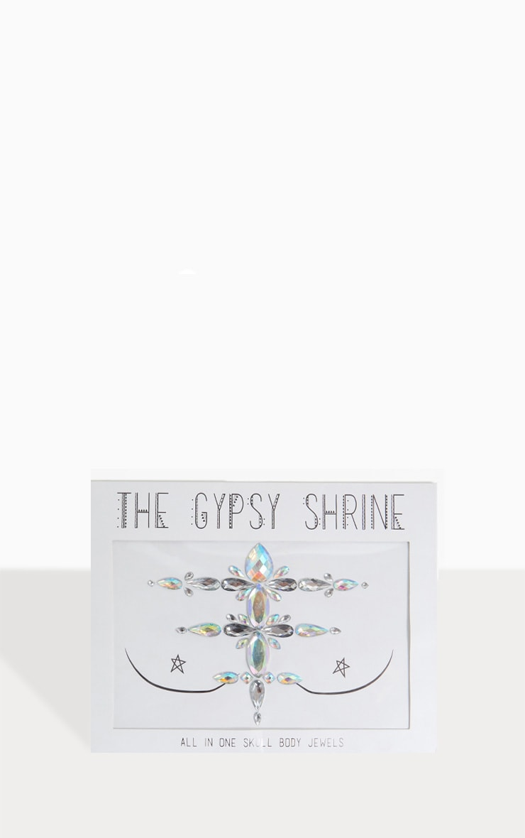 The Gypsy Shrine Skull Chest Piece 3