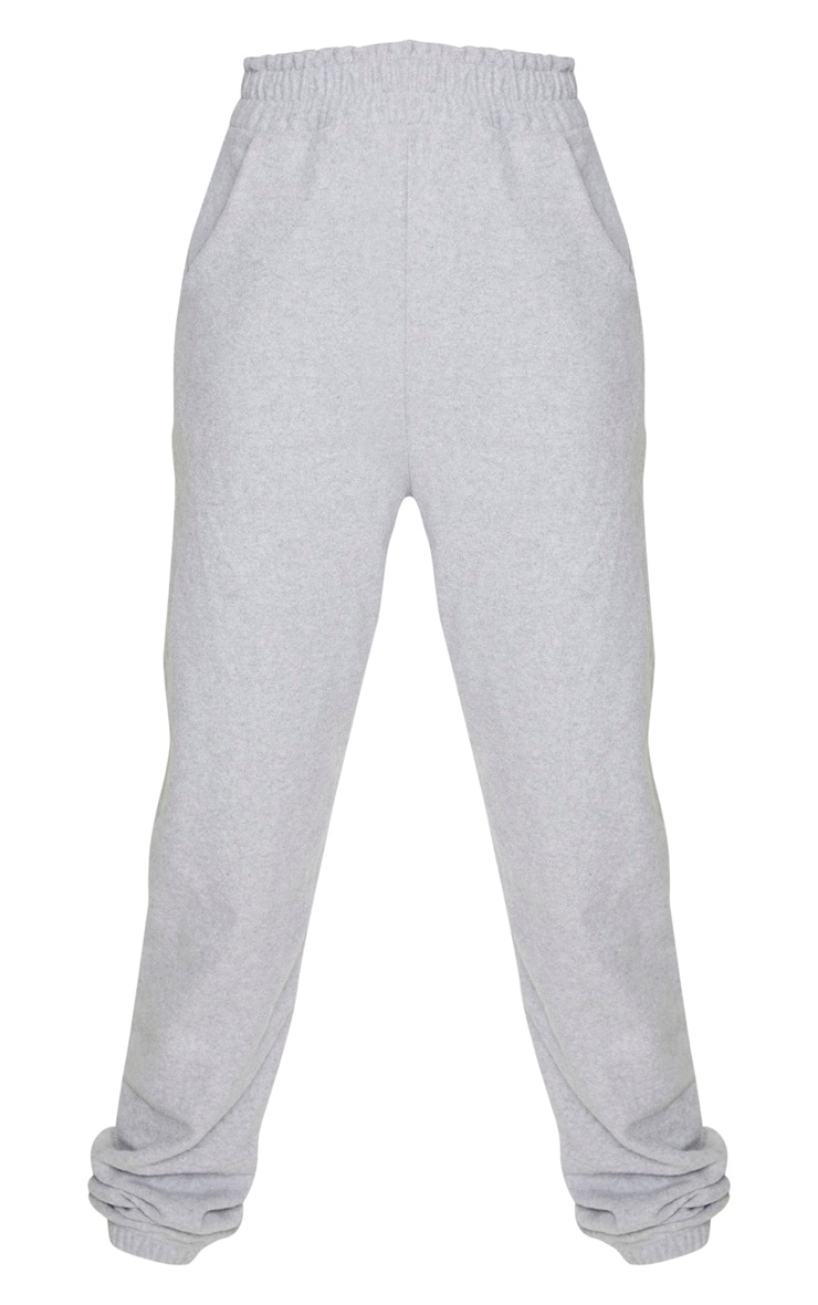 Tall Grey Brushed Sweat Oversized Joggers 3