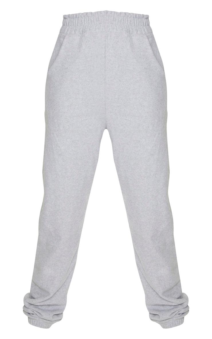 Tall Grey Brushed Sweat Oversized Sweatpants 3