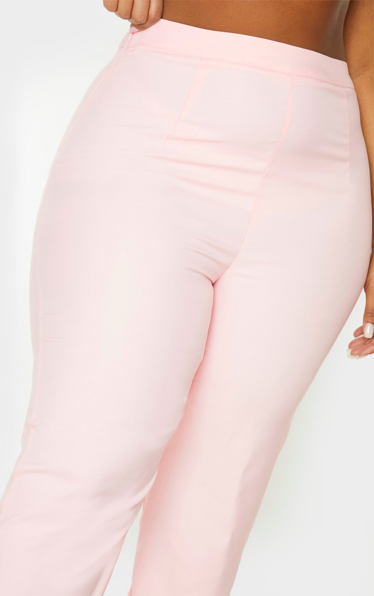 Plus Dusty Pink Straight Leg Pants 5