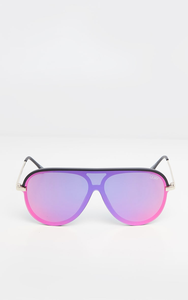 QUAY Pink Purple Empire Sunglasses 5