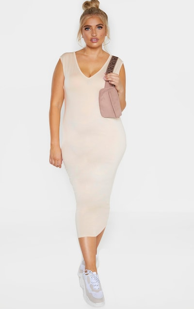 95351f0f9c22 Plus Size Dresses | Plus Size Maxi & Party Dresses | PrettyLittleThing