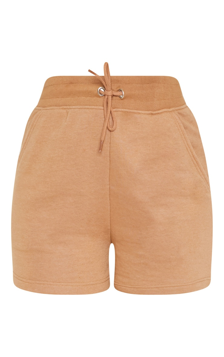 Taupe Sweat Shorts 3