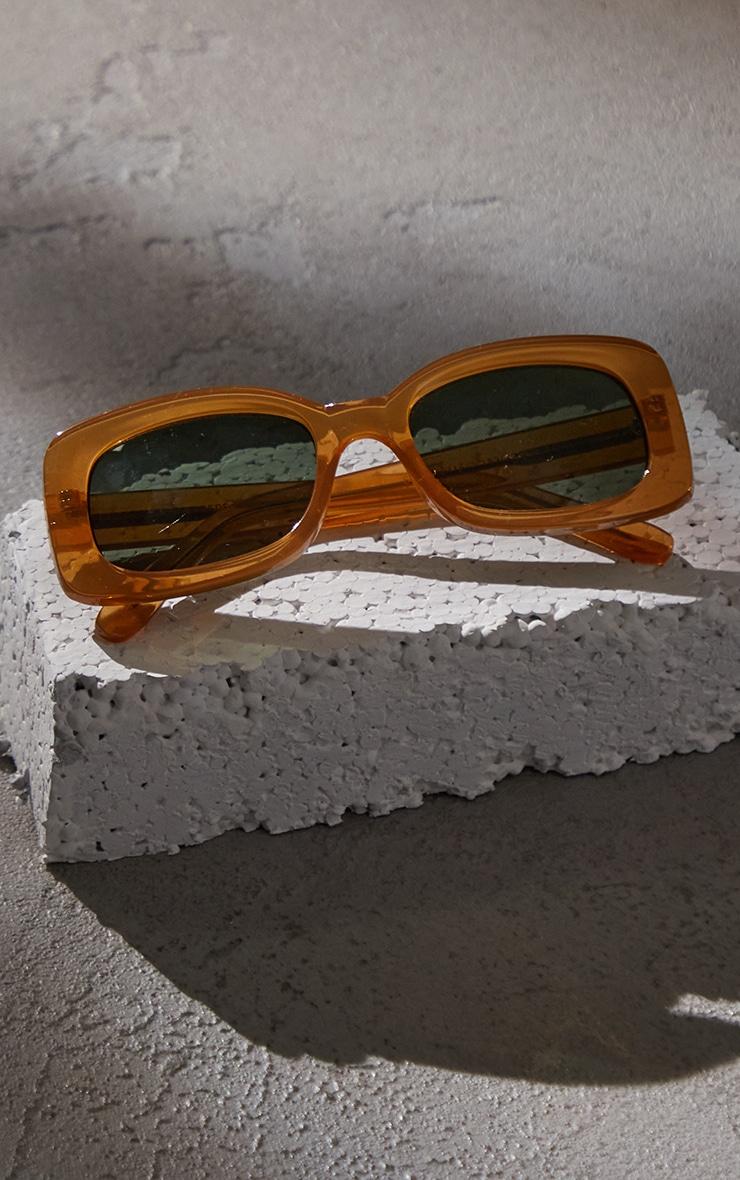 A.Kjaerbede Salo Light Brown Sunglasses 3