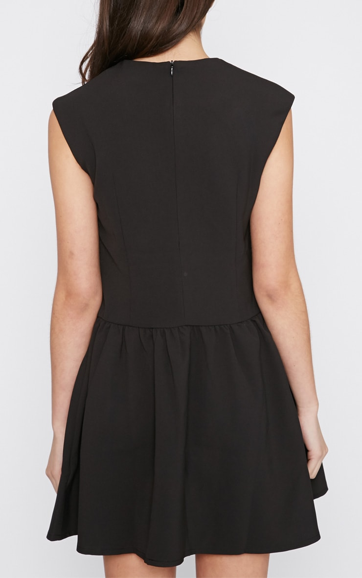 Ria Black Drop Waist Dress 2