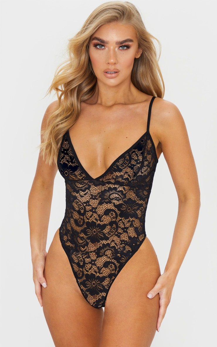 Black Basic Lace Body 1