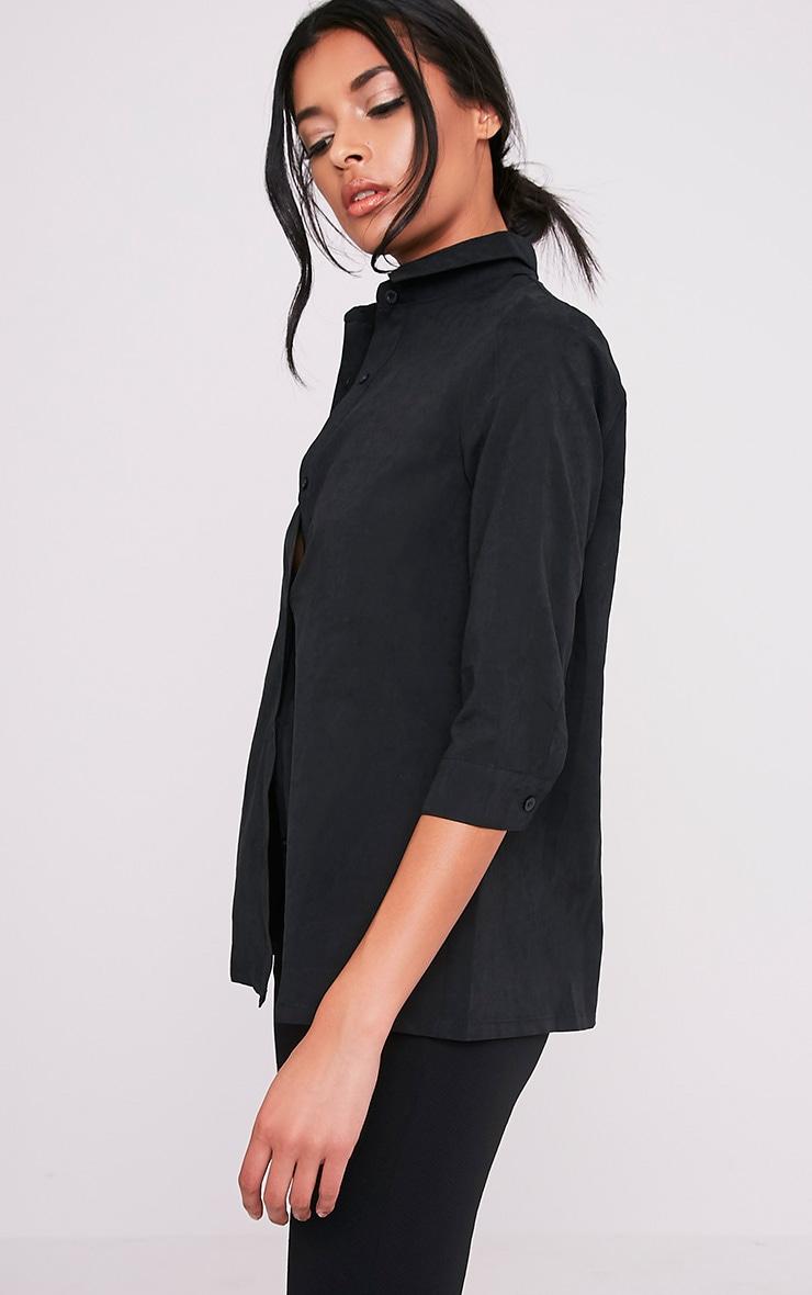 Basic chemise noire 4