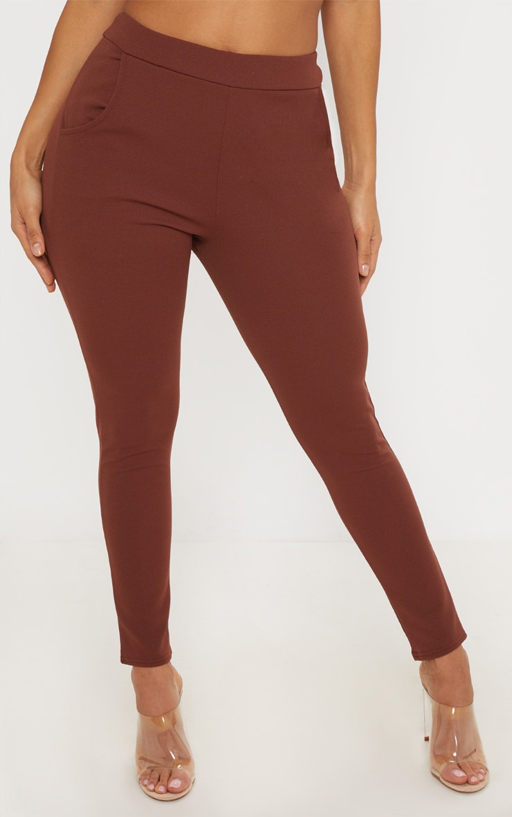Chocolate Skinny Trouser 2
