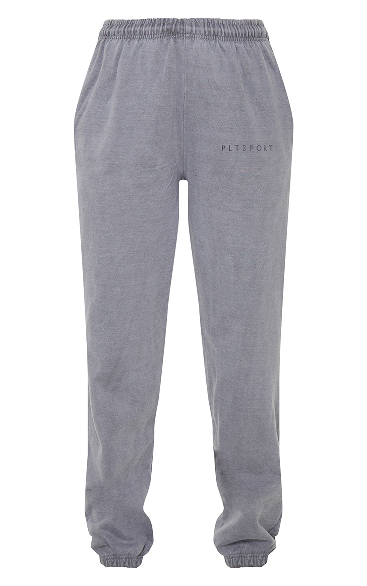 PRETTYLITTLETHING Charcoal Sport Joggers 5