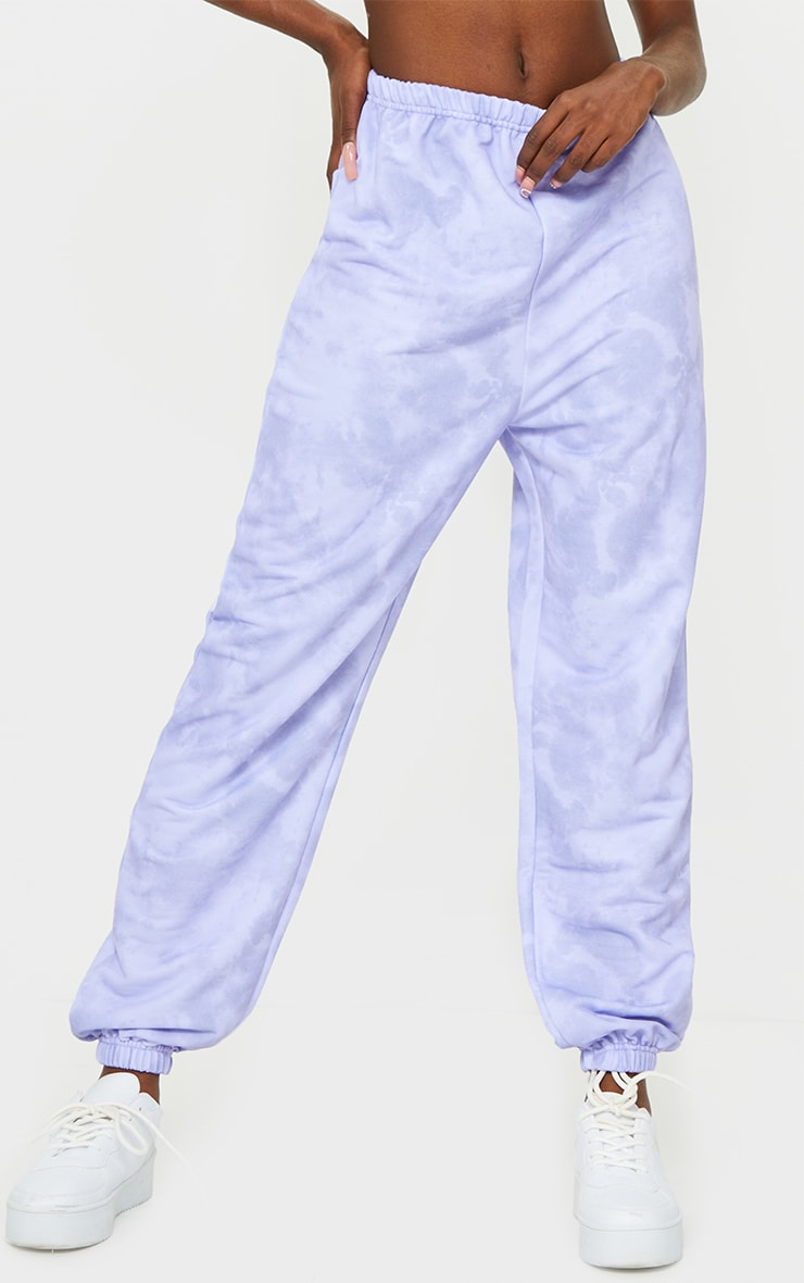 Tall Lilac Tie Dye Basic Jogger 2