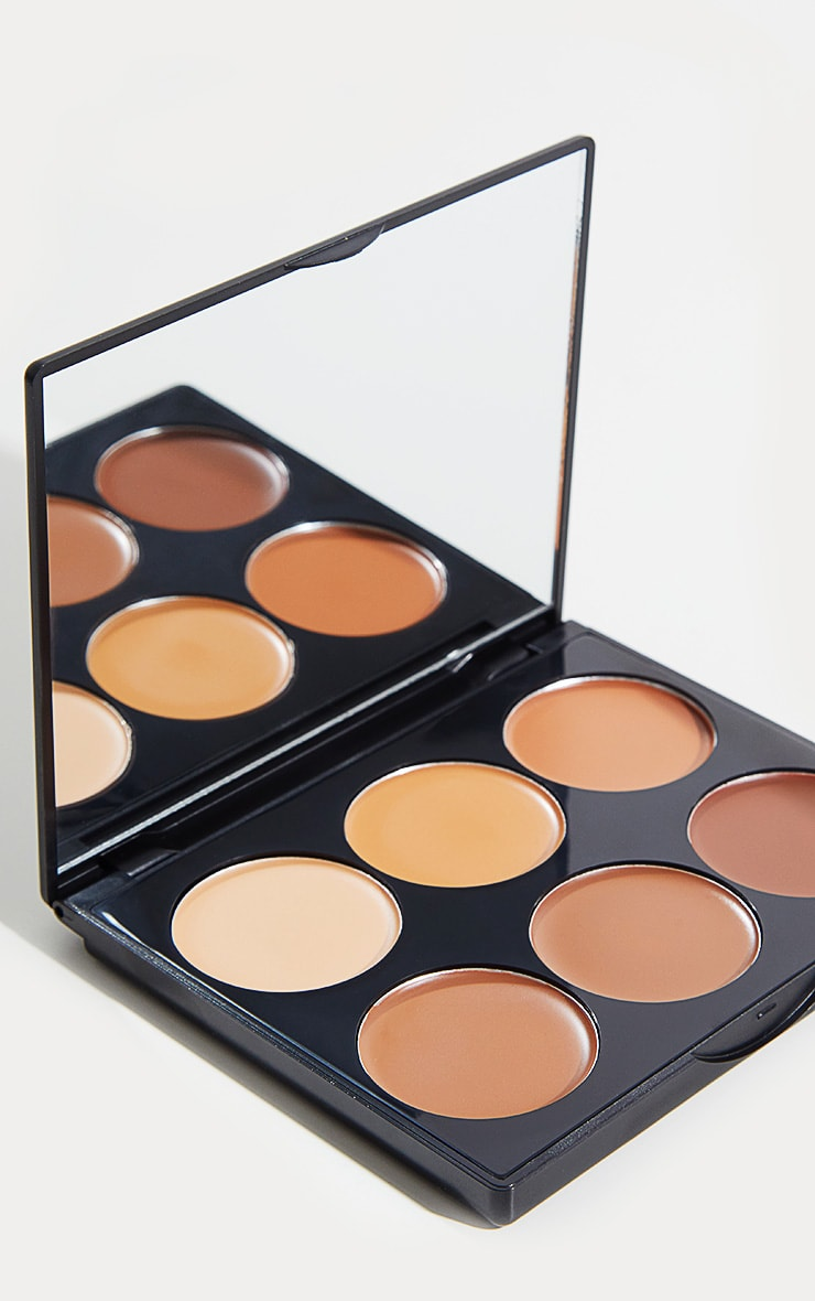 Sleek MakeUP Dark Cream Contour Kit 1
