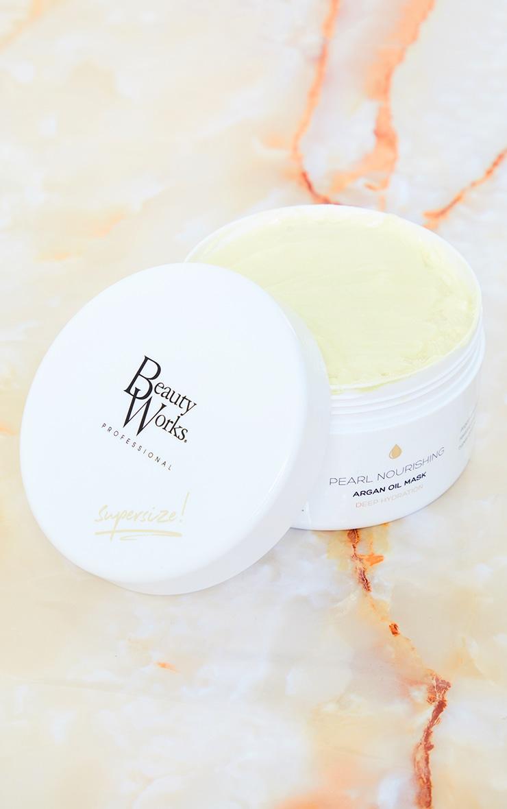 Beauty Works - Masque capillaire à l'huile d'argan Pearl Nourishing - 500 ml 1