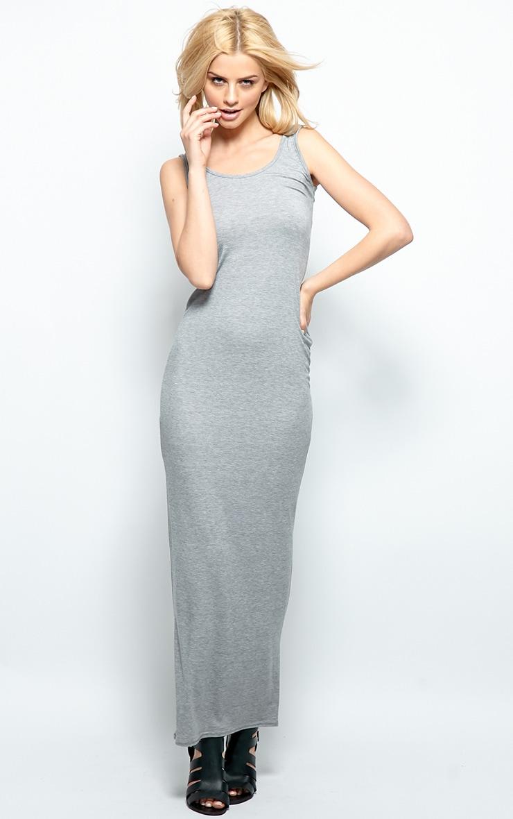Zoe Grey Jersey Maxi Dress 3
