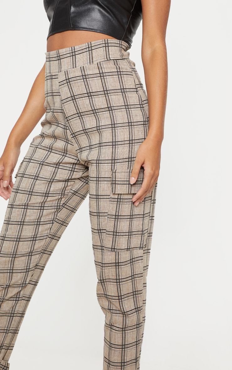 Black Peg Leg Cargo Pocket Trouser 5