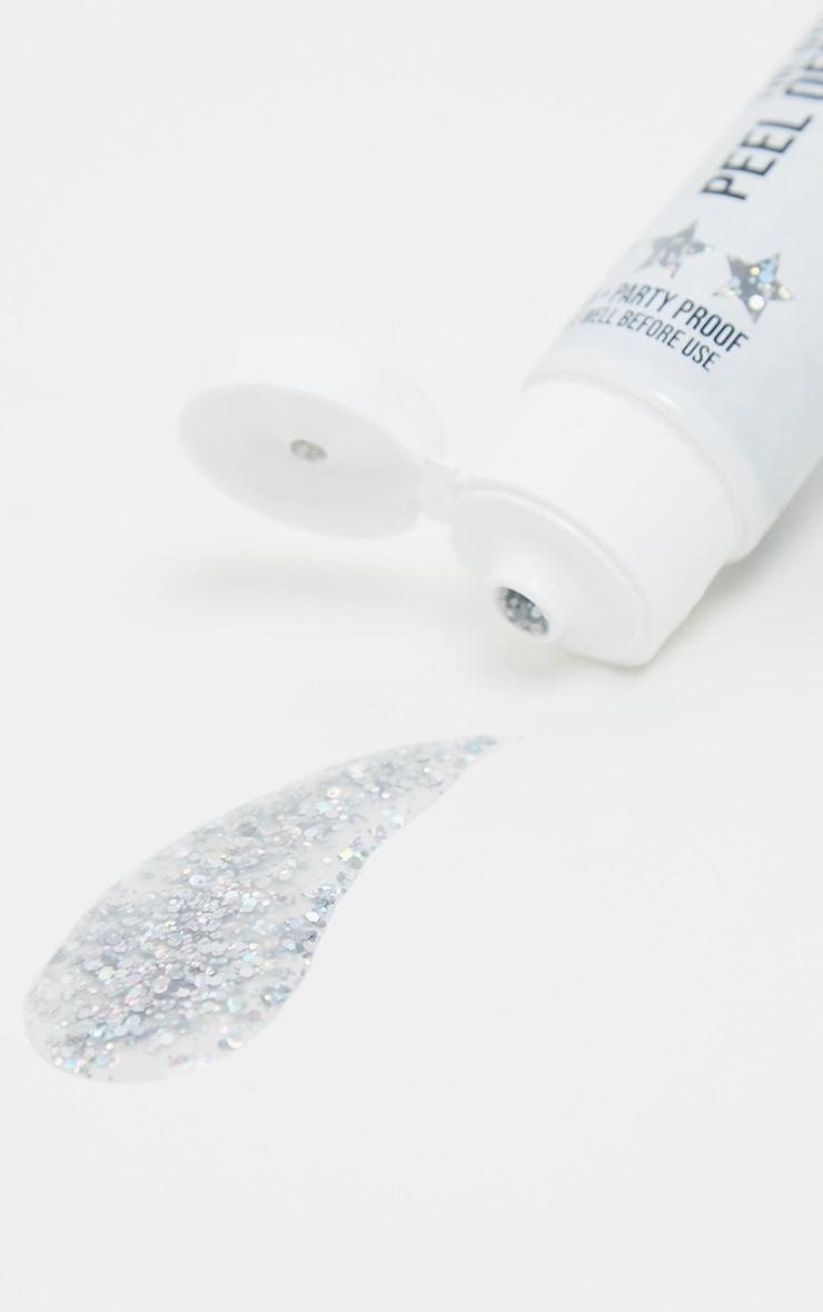 The Gypsy Shrine Silver Peel Off Glitter Mix  1