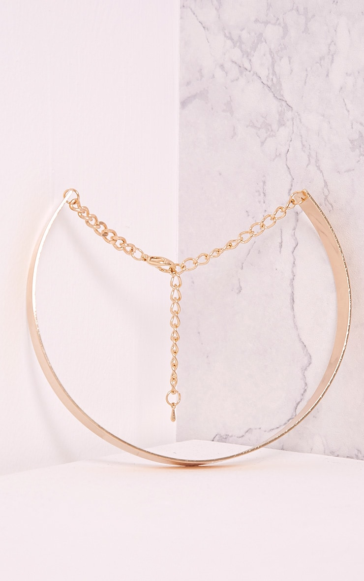 Trish Gold Thinline Metal Choker 5