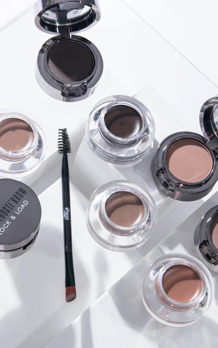 BPerfect Cosmetics Indestructi'brow Lock & Load Eyebrow Pomade Duo Irid Brown 4
