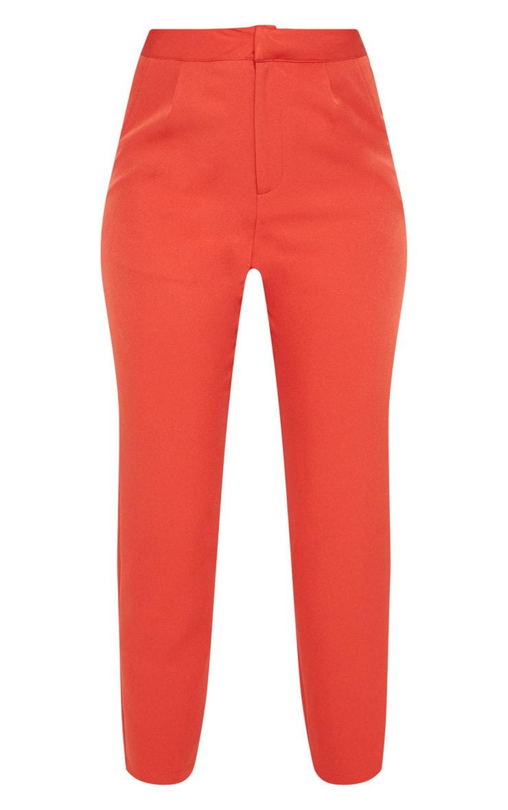 Rust Cropped Trouser 3