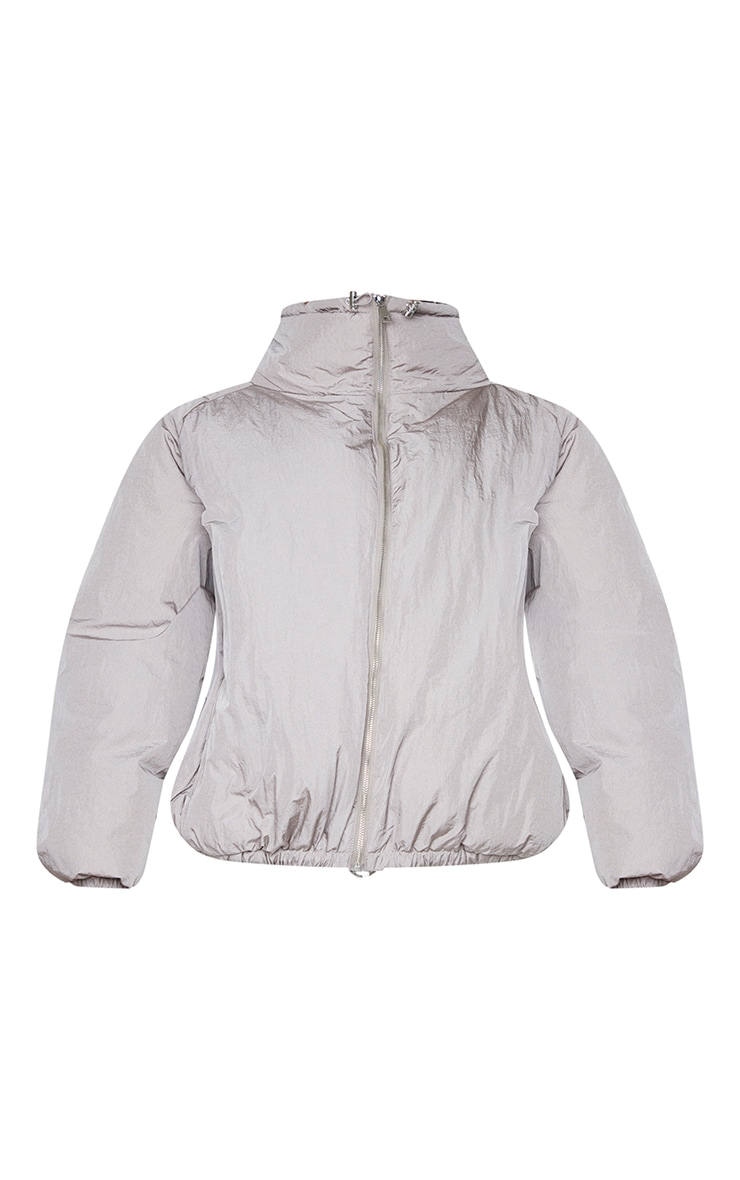 Grey Extreme Oversized Puffer Jacket 5