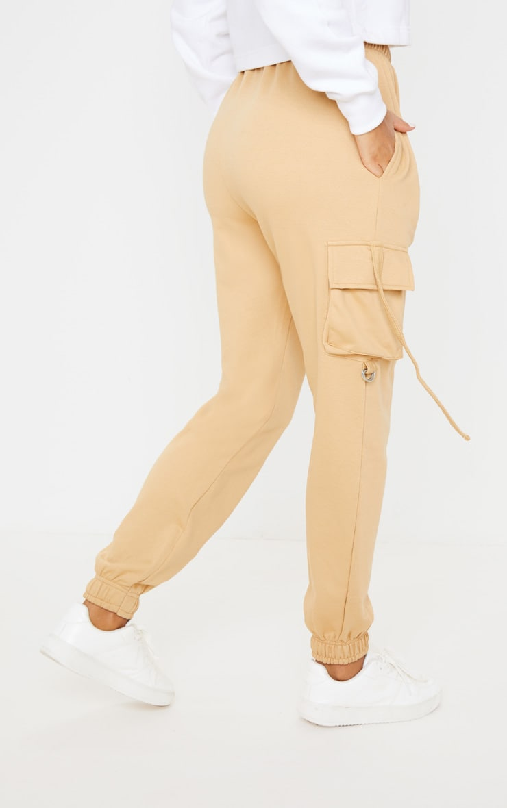 Biscuit Cargo Detail Casual Joggers 4