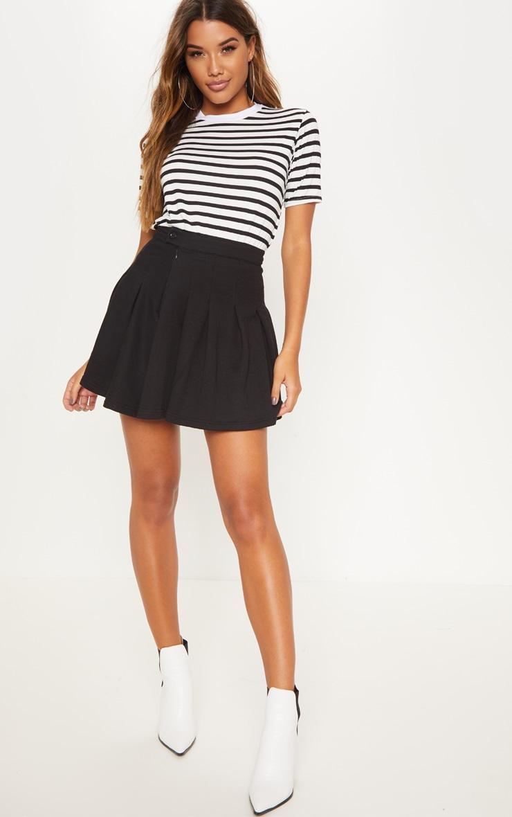 Black Sweat Tennis Skirt 5