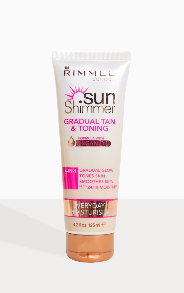 Rimmel Gradual Tan & Toning with Argan Oil 1