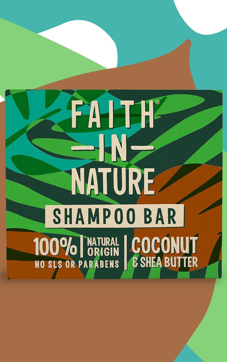 Faith In Nature Bar Shampoo Coconut & Shea Butter 85g 1