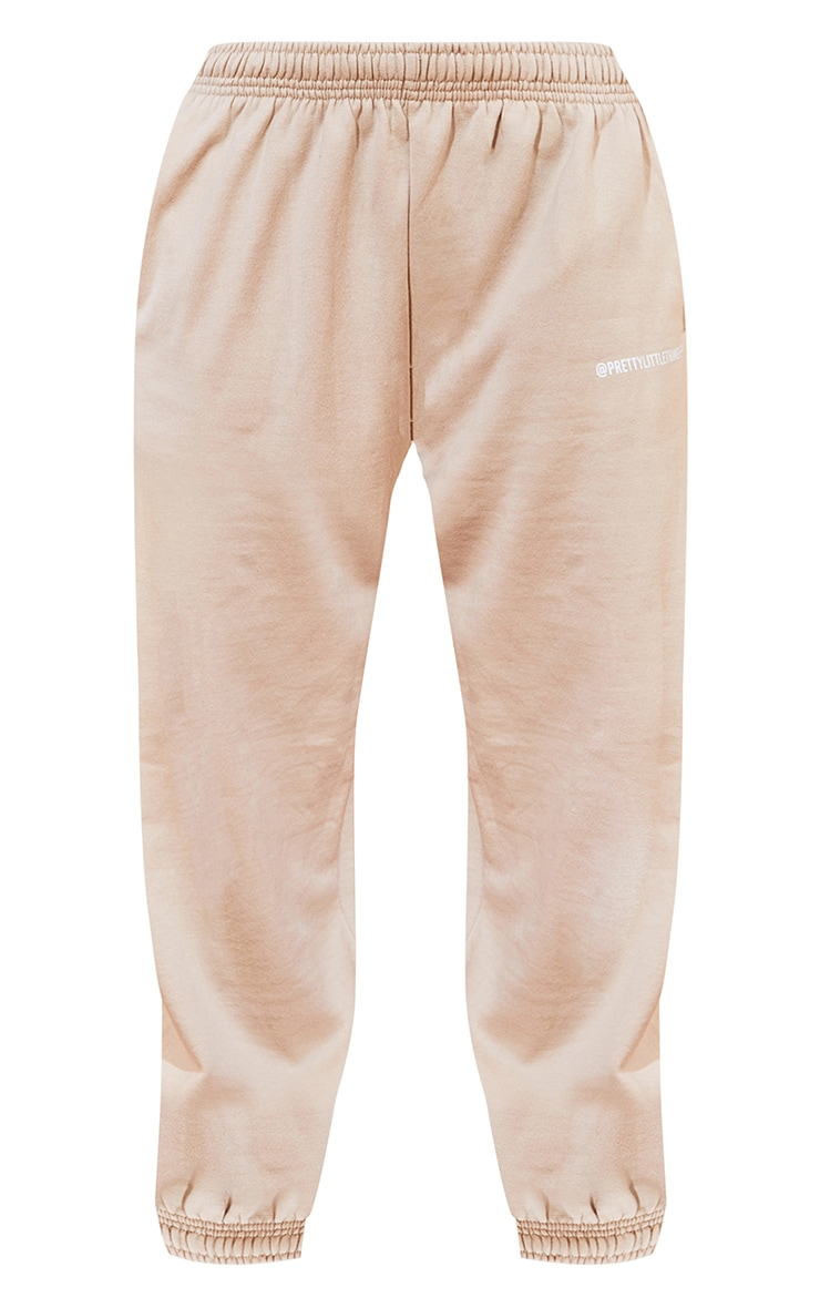 PRETTYLITTLETHING Sand Printed Joggers 5
