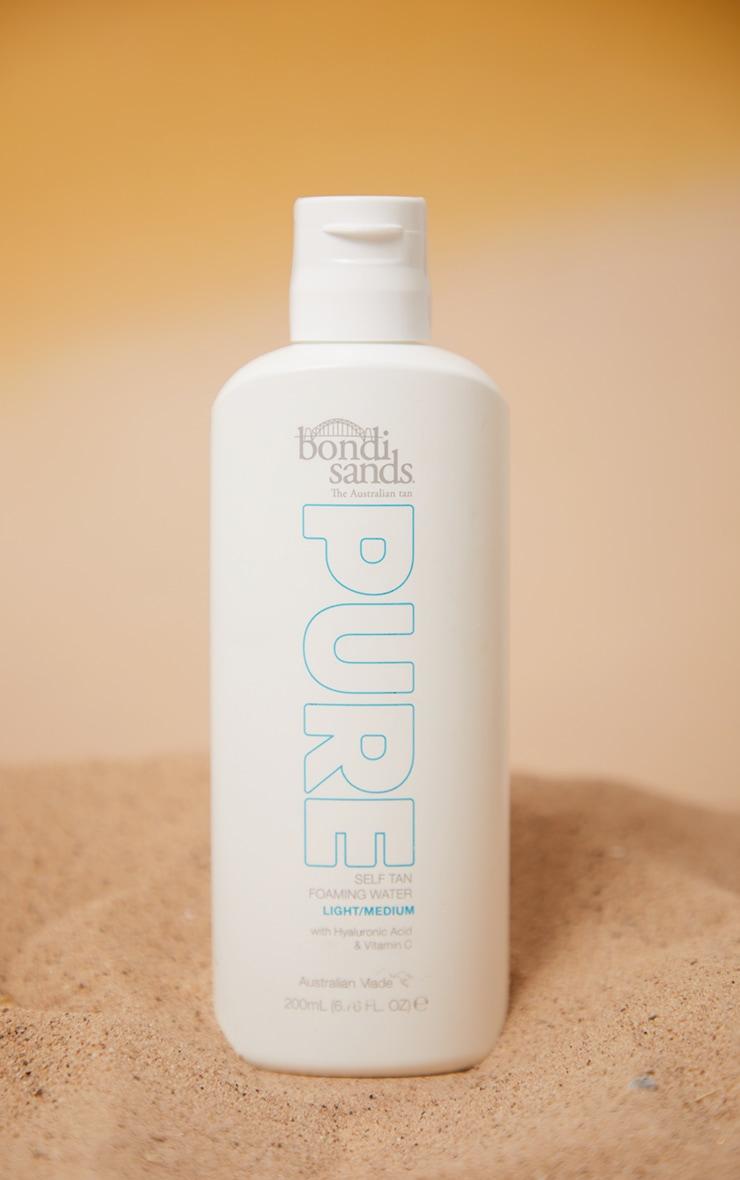 Bondi Sands Pure Self Tan Foaming Water Light/Medium 200ml 1