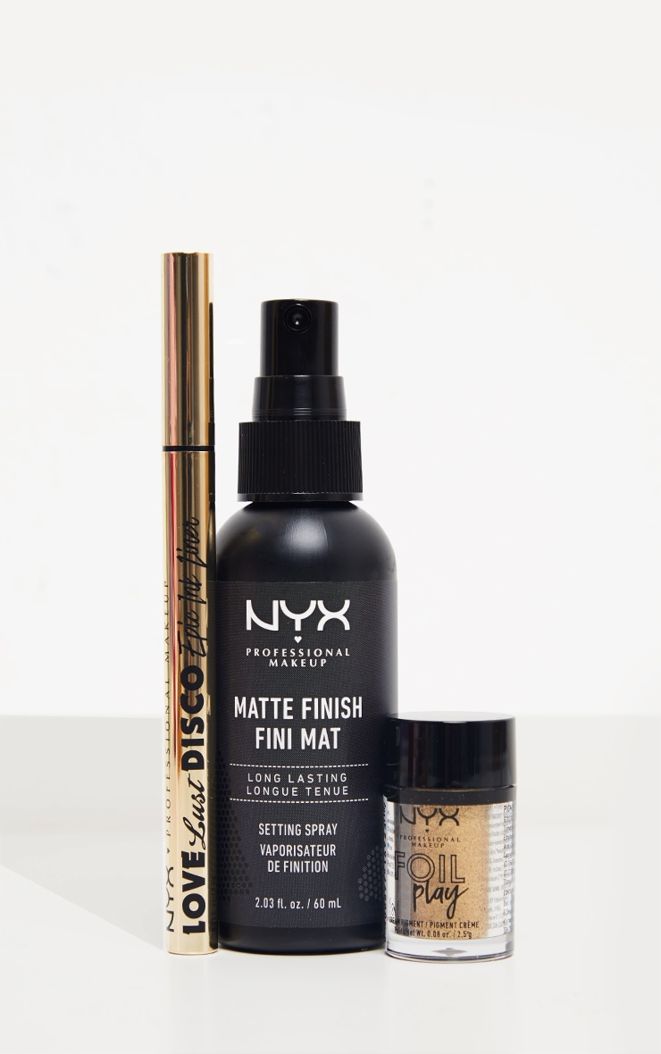 NYX PMU Epic Studio Christmas Matte Eye Gift Set