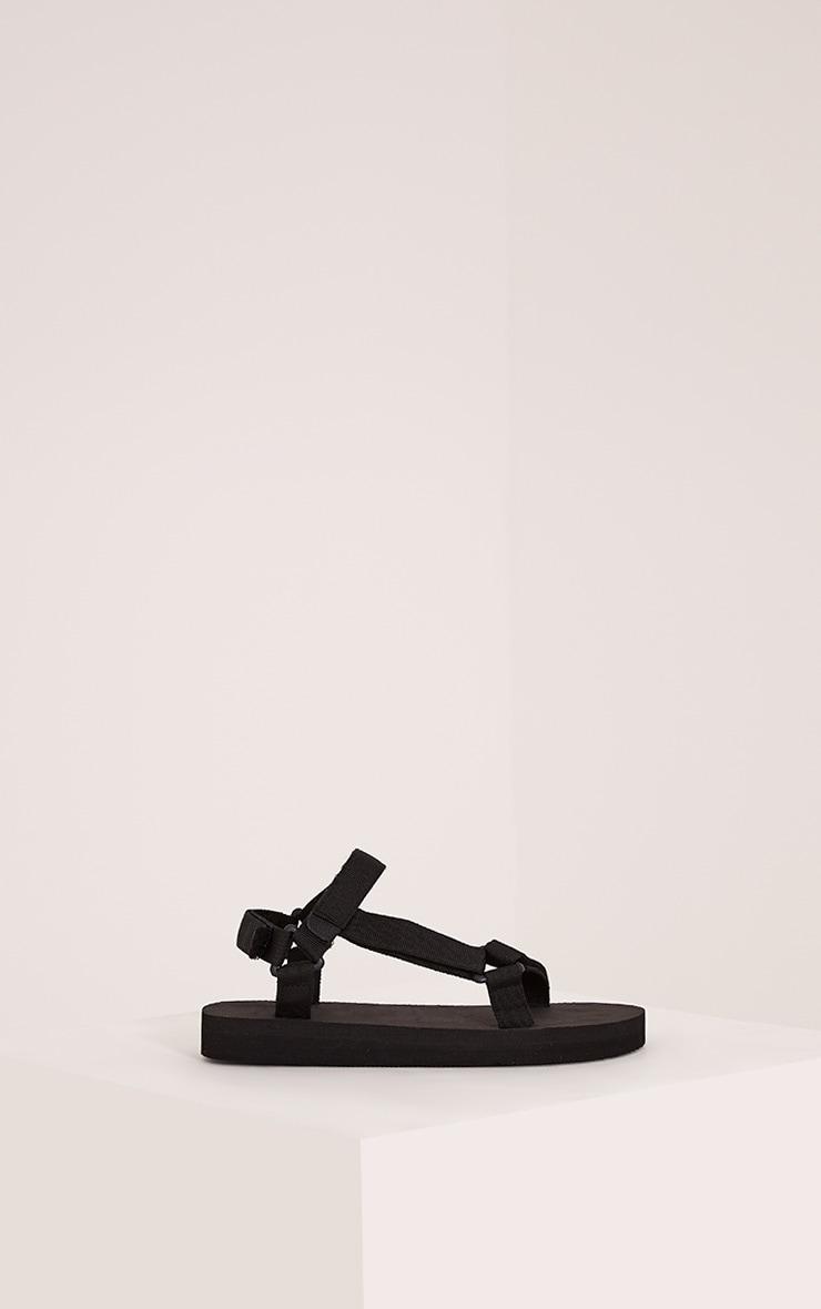 Nina Black Harness Strap Sliders 3
