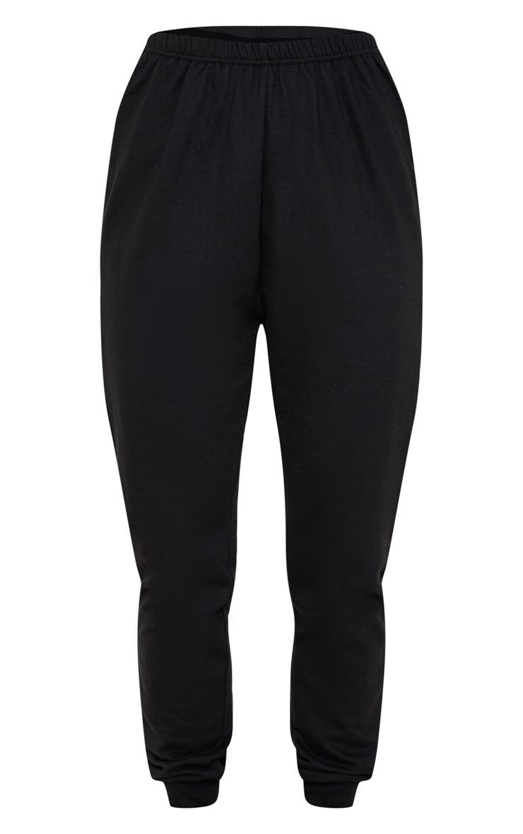 Jogging skinny noir profond 3